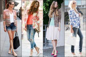 dámy mají nejrůznější styly oblékání